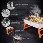RioRand-BBQ-Grill-Portable-Charcoal-Barbecue-Folding-Lightweight-Barbeque-Grills-Tools-for-Outdoor-Indoor-Garden-Backyard-Cooking-Camping-Hiking-Beach-Picnics-Tailgating-Backpacking-0-2
