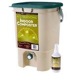 SCD-Probiotics-K200-All-Seasons-Indoor-Composter-Kit-Tan-Bucket-8-oz-Liquid-Bokashi-0