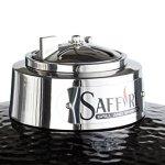 Saffire-Grills-SGUS19-CGOBKSC-Silver-GrillSmoker-19-Onyx-Black-0-0