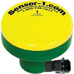 Sensor-1-DS-GPSM-CIHT1-YG-1-Hz-GPS-Speed-Sensor-Yellow-Top-and-Green-Stem-Housing-with-Weather-Pack-Tower-Connector-0