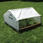 Shelter-Logic-70617-Round-Raised-Bed-Greenhouse-with-Fully-Closable-Cover-4-x-4-x-1-Feet-11-Inch-0-1