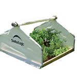 Shelter-Logic-70617-Round-Raised-Bed-Greenhouse-with-Fully-Closable-Cover-4-x-4-x-1-Feet-11-Inch-0