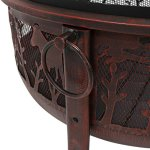 Sunnydaze-Pheasant-Hunting-Fire-Pit-30-Inch-Diameter-with-Spark-Screen-0-2