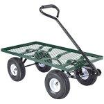 Tek-Widget-Heavy-Duty-Garden-Nursery-Wagon-Cart-660lbs-0-0