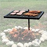 Texsport-Heavy-Duty-Barbecue-Swivel-Grill-for-Outdoor-BBQ-over-Open-Fire-Pack-of-3-0