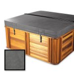 The-Cover-Guy-Extreme-6-Replacement-Hot-Tub-Spa-Cover-Downeast-Spa-Master-spa-models-94x94x6-Radius-Corners-Brown-or-Grey-0-0