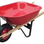 United-General-WH89982-Heavy-Duty-Steel-Tray-Wheelbarrow-6-Cubic-Feet-18-Gallon-0