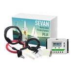Unlimited-Solar-Sevan-PLUS-100-Watt-12-Volt-Flexible-Marine-Solar-Charging-System-0-0