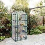 totoshop-4-Shelves-Green-house-Portable-Mini-Outdoor-Green-House-Brand-New-Garden-0-1