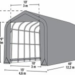 14x40x16-Peak-Style-Shelter-Green-Cover-0-2