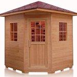 4-Person-Outdoor-Ceramic-FIR-Far-Infrared-Luxury-Sauna-SPA-0