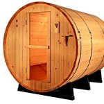 6-Foot-Canadian-Outdoor-PINE-WOOD-Barrel-Sauna-WET-DRY-SPA-4-Person-Size-0-1