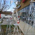 8-Ft-Premium-Aluminum-Decorative-Garden-Windmill-Green-Trim-0-2