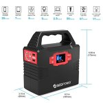 ACOPOWER-150Wh40800mAh-Portable-Generator-Power-Supply-Solar-Energy-Storage-Lithium-ion-Battery-with-AC-Power-Inverters-110V60Hz-USB-Ports-5V3A-DC-Ports-9126V15A-Charged-by-ACSolar-Panels-0-0