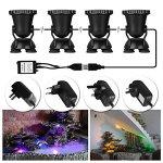 ALLOMN-4pcs-Remote-Control-RGB-36-LED-Underwater-Projector-Spotlight-Submarine-Light-IP68-Waterproof-for-Garden-Landscape-Park-Rockery-Pool-Pond-Corridor-Fish-Tank-Aquarium-0