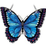 Amia-Hand-Painted-Glass-Butterfly-Suncatcher-Blue-Morpho-0