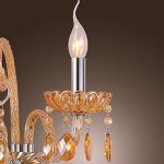 Artisitc-Wall-Light-with-2-Lights-Candle-Style-Amber-Crystal-A-0-1