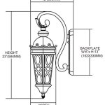 Burlington-Junction-2-Light-Outdoor-LED-Wall-Sconce-in-Hazlenut-Bronze-and-Amber-Scavo-Glass-0-0