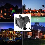 Cosway-Projector-Lamp-Night-Light-New-Design-House-Garden-Lighting-Show-with-Homdox-12-Replaceable-Lens-Colorful-Patterns-for-Party-Christmas-Halloween-Wedding-Celebration-0