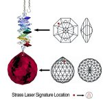 CrystalPlace-Crystal-Ornament-45-inch-Swarovski-Prisms-Red-Faceted-Ball-Prism-Crystal-Sun-Catcher-0-0