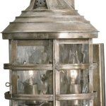 Elk-2131-WB-9-by-14-Inch-Barnstable-2-Light-Outdoor-Wall-Sconce-with-Water-Glass-Shade-Olde-Bay-Finish-0