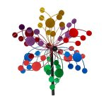 Evergreen-Confetti-Outdoor-Safe-Kinetic-Wind-Spinning-Topper-Pole-Sold-Separately-0