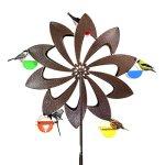 Exhart-Ferris-Feeder-Bird-Feeder-Wheel-Statue-BackyardOutdoor-Garden-0
