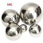 GEZICHTA-Stainless-Steel-Mirror-Sphere-Hollow-Ball-Home-Garden-Ornament-Decoration-15cm-12cm-10cm-8cm-51cm-Ornament-Mirror-Ball-0-0