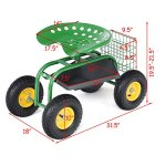 Goplus-Garden-Cart-Rolling-Work-Seat-Outdoor-Lawn-Yard-Patio-Wagon-Scooter-for-Planting-Adjustable-360-Degree-Swivel-Seat-wTool-Tray-Basket-0-1