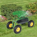 Goplus-Garden-Cart-Rolling-Work-Seat-Outdoor-Lawn-Yard-Patio-Wagon-Scooter-for-Planting-Adjustable-360-Degree-Swivel-Seat-wTool-Tray-Basket-0-2