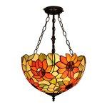 Gweat-16-Inch-Pastoral-Warm-Sunflower-tiffany-Pendant-Light-Living-Room-lamp-Uplight-0-0