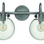 Hinkley-Lighting-50024AN-Congress-11-12H-2-Light-Bath-Lighting-with-Clear-Glas-0