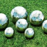 Kovot-7-Piece-Garden-Sphere-Set-7-Stainless-Steel-Gazing-Balls-Ranging-From-2-38-4-34-0