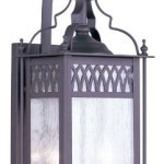 Livex-Lighting-4742-07-Outdoor-Wall-Lantern-with-Seeded-Glass-Shades-Bronze-0