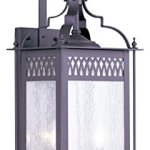 Livex-Lighting-4743-07-Outdoor-Wall-Lantern-with-Seeded-Glass-Shades-Bronze-0