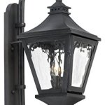 Manor-Outdoor-Wall-Lantern-in-Charcoal-and-Water-Glass-0