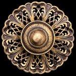 Milano-2-Light-Chandelier-in-Florentine-Bronze-with-Golden-Shadow-Crystals-From-Swarovski-0