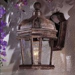 Minka-Lavery-9116-198B-PL-2-Light-Ravalli-Bronze-with-Gold-Highlights-Post-Mount-Lights-0