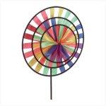 Multicolor-Triple-Kaleidoscope-Wind-Wheel-Pinwheel-0