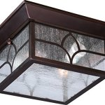 Nuvo-Lighting-605643-Stanton-Large-One-Light-Wall-Lantern-100-watt-A19-Outdoor-Porch-and-Patio-Lighting-with-Clear-Seeded-Glass-0