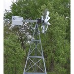 Outdoor-Water-Solutions-AWS0011-12-Feet-Galvanized-3-Legged-Aeration-System-Windmill-0-2