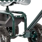 Peach-Tree-Garden-Cart-Rolling-Work-Seat-with-Tool-Tray-Heavy-Duty-Gardening-Planting-New-0-1