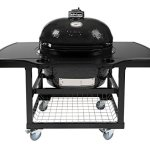 Primo-Oval-XL-400-Ceramic-Smoker-Grill-On-Cart-with-1-Piece-Island-Top-0