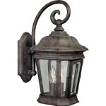 Progress-Lighting-P5671-33-Cast-Wall-Lantern-with-Clear-Beveled-Glass-Hinged-Door-For-Easy-Relamping-Cobblestone-0