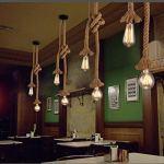 RUXUE-Industrial-Vintage-Hemp-Rope-Pendant-Light-Fixtures-with-Ceiling-Bracket-0