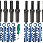 Rain-Bird-5000-Series-Rotor-Sprinkler-Heads-bundle-by-ItemEyes-with-Nozzles-and-Adjustment-Tool-model-part-circle-4-popup-height-4-X-Pack-of-4-0