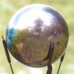Rainbow-Steel-Gazing-Ball-0