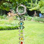 Red-Carpet-Studios-31095-Hanging-Wind-Spinner-7-Chakras-Rainbow-0-0