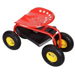 Rolling-Garden-Cart-Work-Seat-With-Heavy-Duty-Tool-Tray-Durable-Planting-Red-0-2