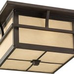 Sea-Gull-Lighting-78880EN3-51-Medford-Lakes-Outdoor-Flush-2-Light-LED-19-Total-Watts-Statuary-Bronze-0